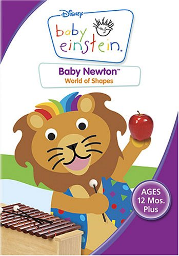 Baby Newton All About Shapes Dvd 786936179781 Ebay
