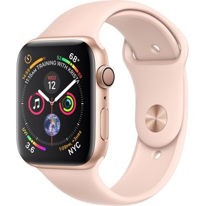 APPLE WATCH S4 GPS Gold Alu