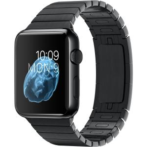 Watch 38mm Black Stainless Steel