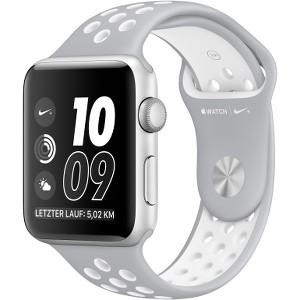 Watch Nike Aluminium 42mm Silver