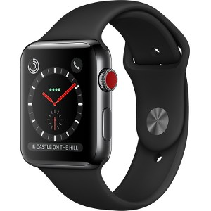Watch Series 3 38mm GPS+Cellular Space Black SS