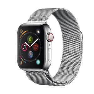 Watch Series 4 GPS + Cellular 44mm Silver Stainless Steel