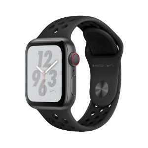 Watch Nike+ Series 4 GPS + Cellular 40mm Space Grey A