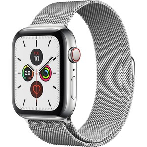 Watch Series 5 40mm GPS+Cellular Silver Stainless Steel