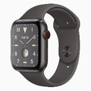 APPLE WATCH S5 GPS+4G Black Titanium