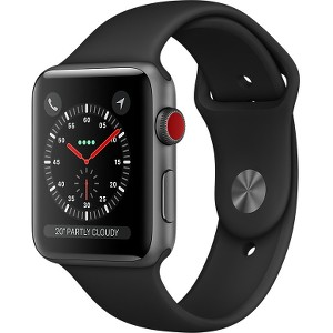 Watch Series 3 38mm GPS + Cellular Space Black SS