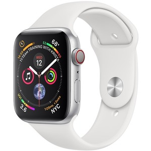 APPLE WATCH S4 GPS Silver Alu