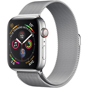 Apple Watch Series 4 GPS + Cellular 44 mm Silver Stainless Steel