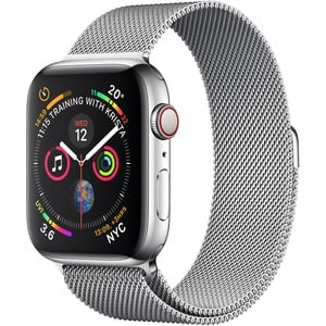 APPLE WATCH S4 GPS+Cellular Silver SS