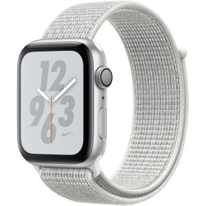 Apple Watch Nike+ Series 4 GPS 44 mm Silver Aluminium