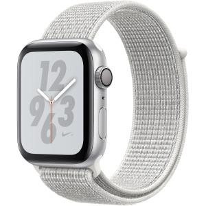 Apple Watch Nike+ Series 4 GPS + Cellular 44 mm Silver Aluminium