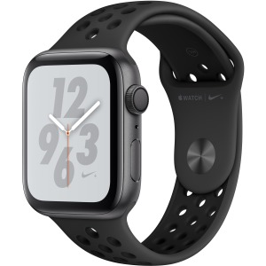 Apple Watch Nike+ Series 4 GPS + Cellular 44 mm Space Gray Aluminium