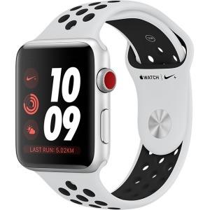 Watch Nike+ Series 3 42mm GPS Silver Aluminium