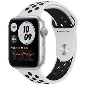 Watch Nike SE 44mm GPS Silver Aluminium